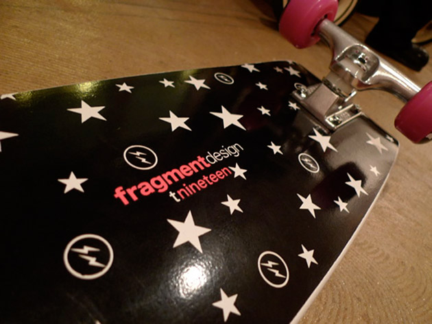 fragment design x T19 Skateboard