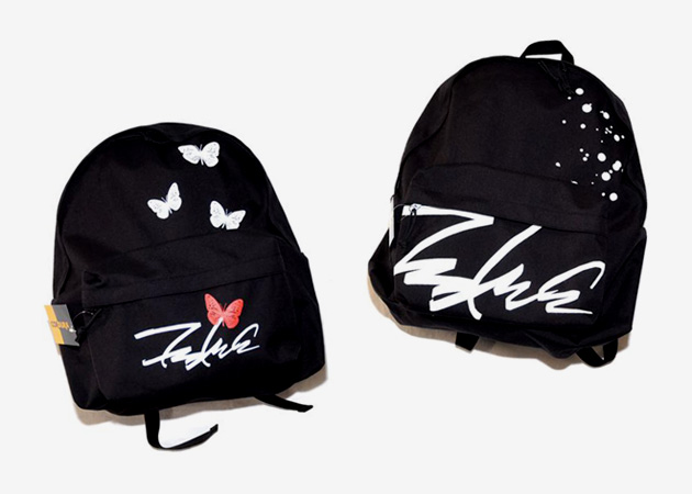 """Futura Laboratories """"Butterfly"""" and """"Splatter"""" Backpacks"""