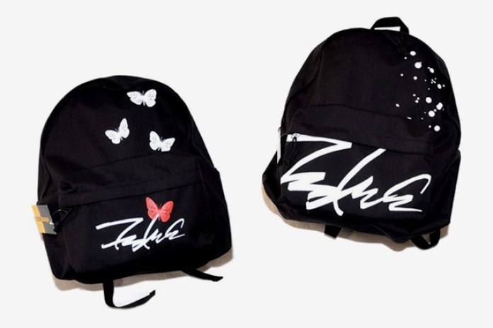 "Futura Laboratories ""Butterfly"" and ""Splatter"" Backpacks"