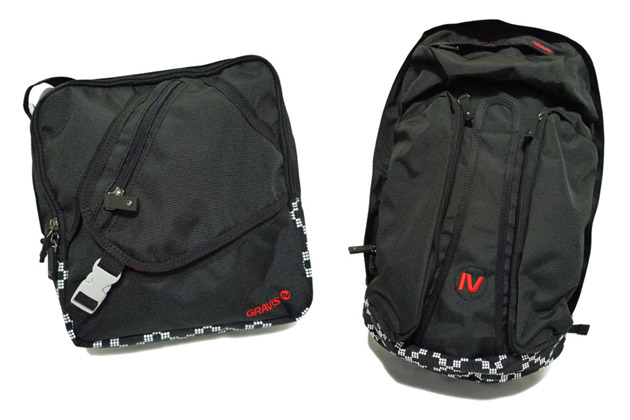 Gravis Black Ops Bag Collection