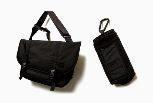 Head Porter Black Beauty Messenger Bag & iPhone Case