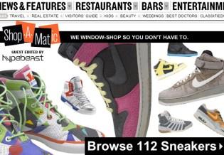 HYPEBEAST x NY Magazine New York Sneaker Shopping Guide