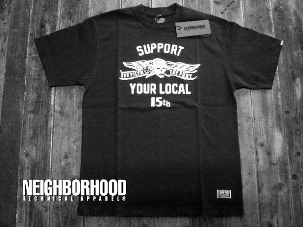 "Instant Karma x Neighborhood ""Support Your Local 15th"" T-shirt"