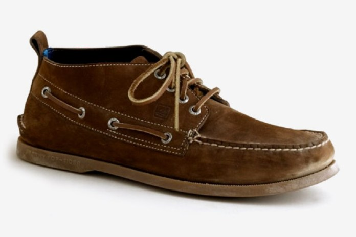 J.Crew x Sperry Top-Siders