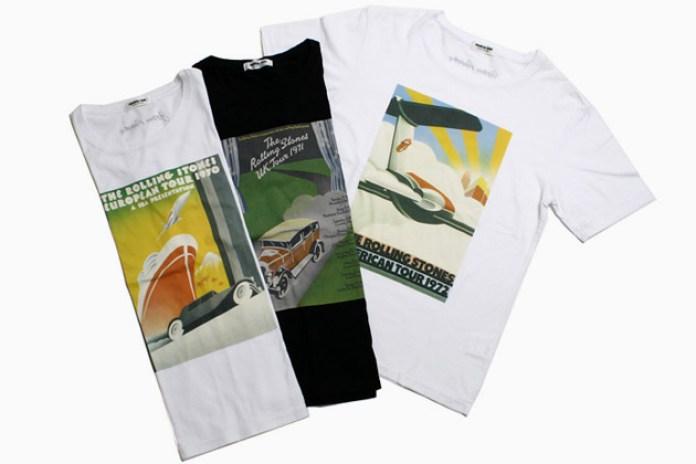 John Pasche x Monkey Time Rolling Stones T-Shirts