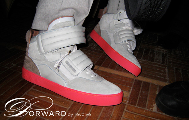 Kanye West's Louis Vuitton High Top Sneaker Preview