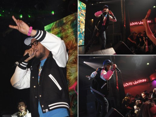 Kid Cudi Performance at Louis Vuitton Event