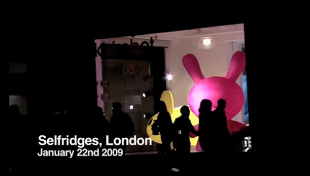 Kidrobot Opening at Selfridges London