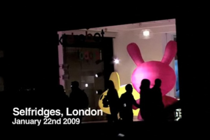 Kidrobot Opening at Selfridges London