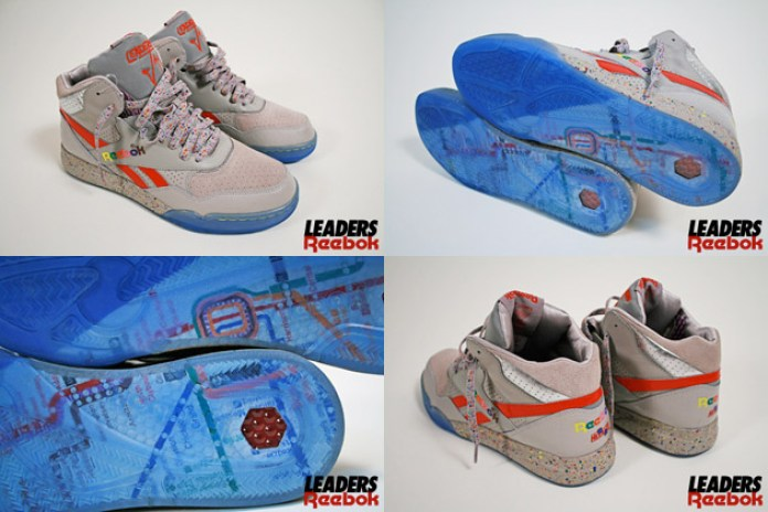 Leaders1354 x Reebok Reverse Jam Red Lines