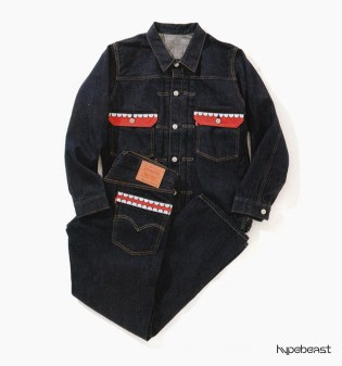 OriginalFake x Levi's KAWS Denim Jacket & Jeans