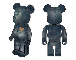 Levi's x Medicom Toy Bearbrick Set