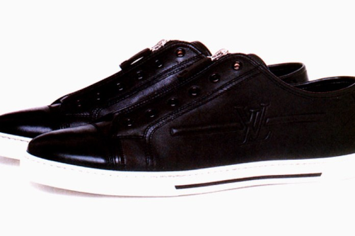 Louis Vuitton 2009 Embossed Sneakers