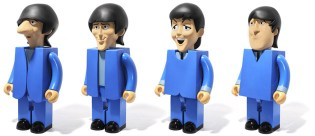 "Medicom Toy Kubrick 1000% The Beatles ""Can't Buy Me Love"" Set"