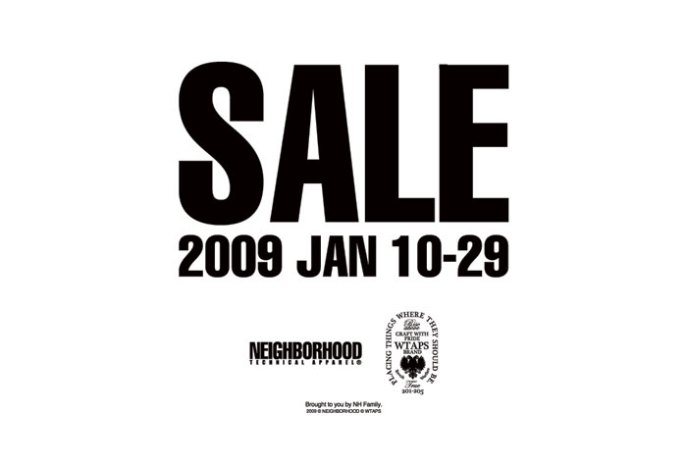 Neighborhood / Blackflag / Hoods - Sale