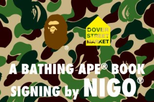 Nigo Signing Event for Nowhere London at Dover Street Market