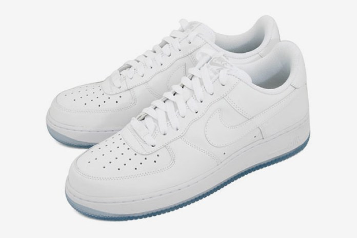 "Nike Air Force 1 ""White on Ice"""