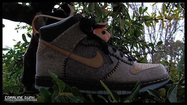 Nike Coraline Dunk Sneaker & Shoe Box