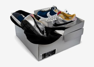 Nike Cortez Brothers Sneakers & Toy Set