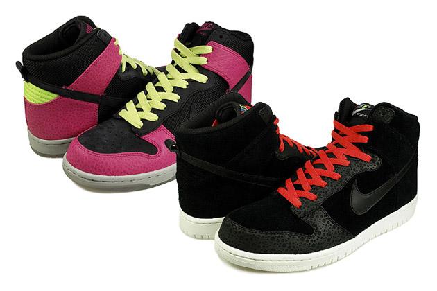 """Nike Dunk High Premium """"Safari"""" Pack"""