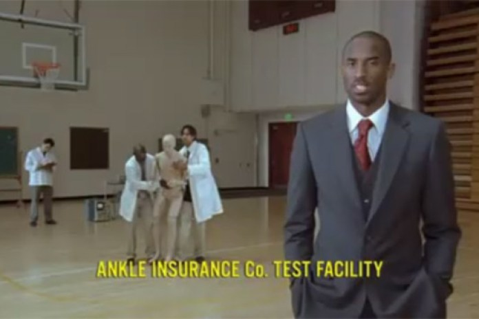 Nike Kobe Zoom IV Ankle Insurance Commercial
