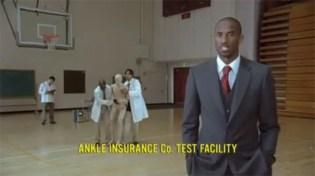 Nike Kobe Zoom IV Ankle Insurance Commercial