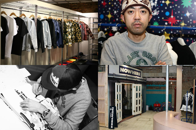 Dover Street Market x NOWHERE Grand Opening