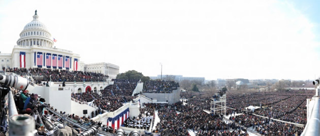 David Bergman |1,474 MP Presidential Inauguration Photograph