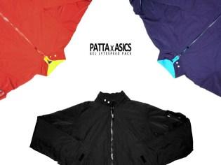 Patta x Asics Gel Lyte Speed Jackets