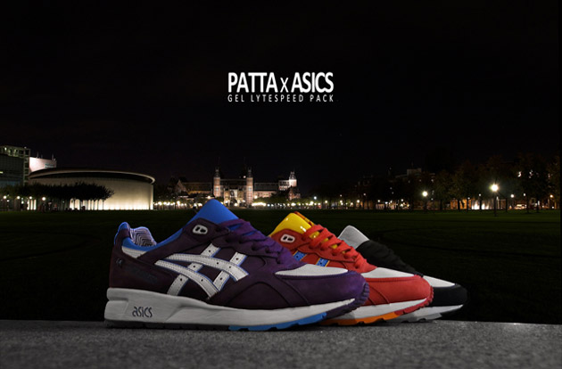 Patta x Asics Gel Lyte Speed Pack by Eric Elms, Delta & Parra