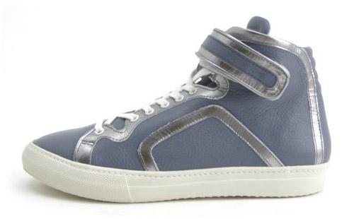 Pierre Hardy 2009 Spring/Summer Leather Hi-Top Sneaker