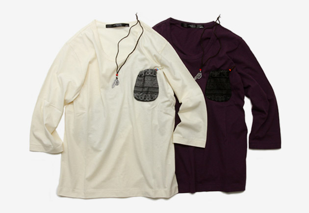rehacer Native American Pouch Shirt