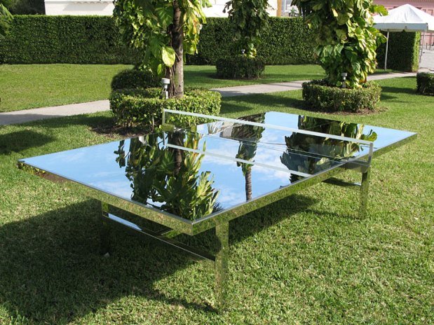 Rirkrit Tiravanija: Reflection Ping Pong Table