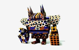Scion x Giant Robot x Shin Tanaka - Paper Toys