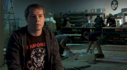 Shepard Fairey talks about Barack Obama Campaign Poster