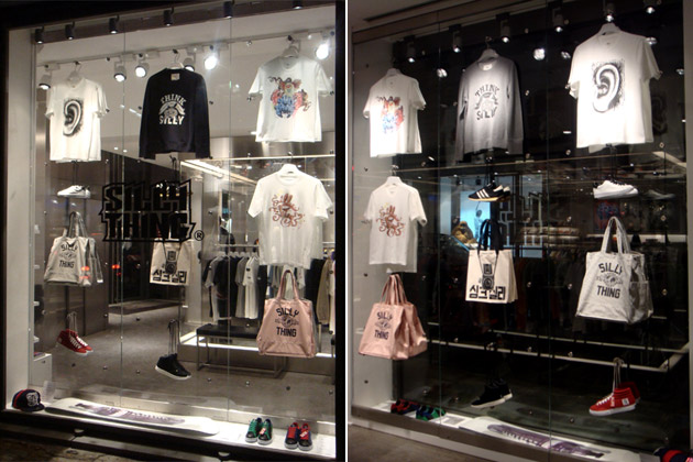 SiLLY THING Display at colette Paris