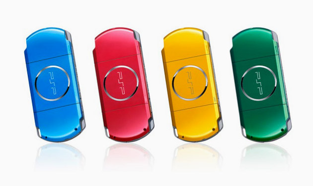Sony Japan PSP Carnival Colors Collection