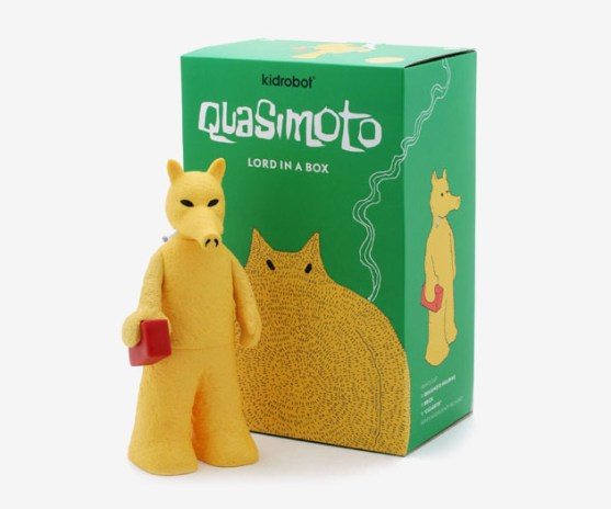 "Stones Throw Records x Kidrobot ""Quasimoto"" Vinyl"