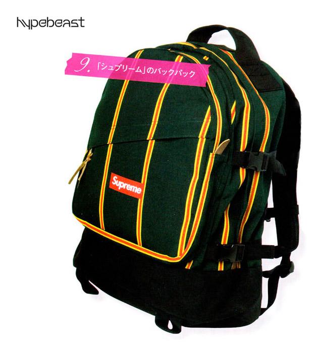 Supreme 2009 Spring/Summer Backpack