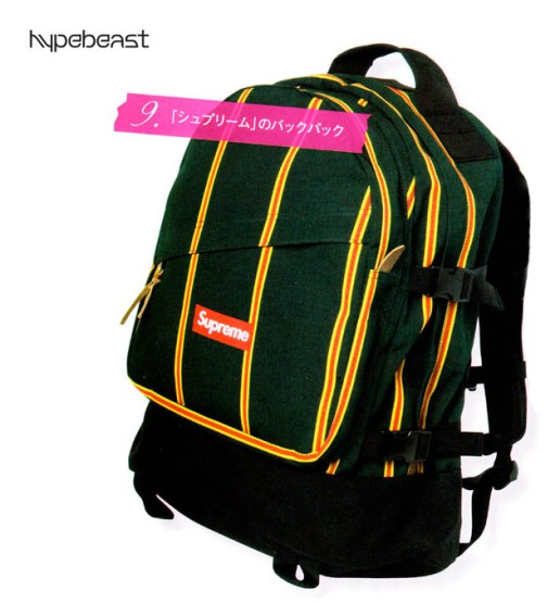 Supreme 2009 Spring/Summer Backpack