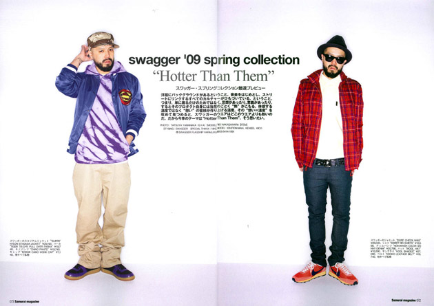 swagger 2009 Spring/Summer Photoshoot in Samurai Magazine