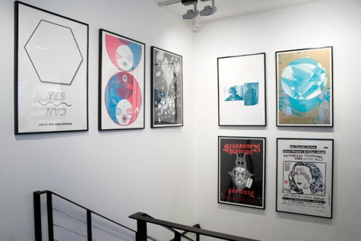 The Art of Music Exhibition at colette Paris