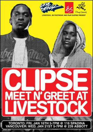 The Clipse Meet n' Greet at Livestock