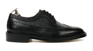 Thom Browne Textured Wingtips
