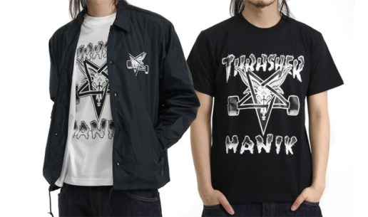 Thrasher x Manik Collection