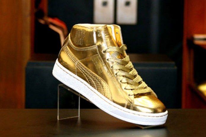Undefeated x PUMA 24k Mid Gold Version