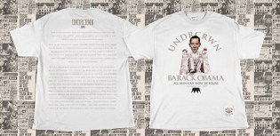 "Undrcrwn ""Gettysburg Address"" Obama Inauguration T-shirt"