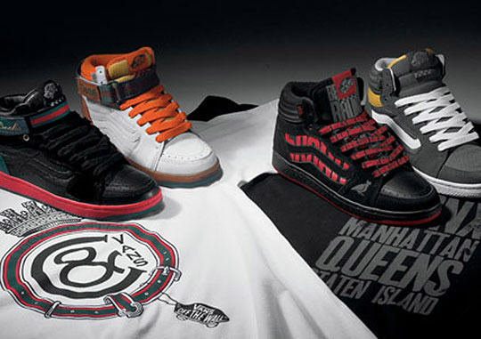 """Vans Forty-Four Hi """"West Coast vs East Coast"""" Collection with Crooks & Castles and 5Boro"""
