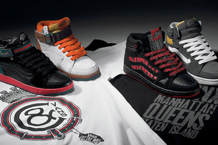 "Vans Forty-Four Hi ""West Coast vs East Coast"" Collection with Crooks & Castles and 5Boro"