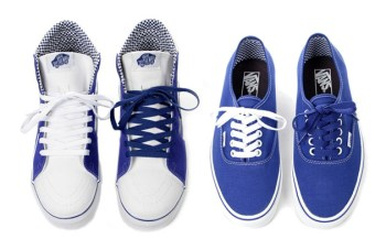 Vans Royal Blue Checkered Pack - SK8-Hi & Authentic